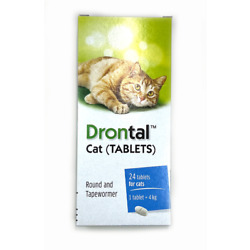 BAYER Dewormer 8/16/24/48Tabs Cats Kittens Tape Hook RoundWorms EXP2025 FREESHIP