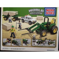 Kyпить John Deere Mega Blok 80841 Bale Transport Building Toy 386 Pcs на еВаy.соm