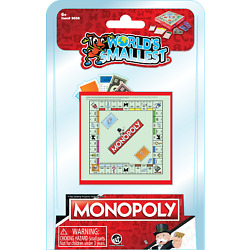 World's Smallest Monopoly Classic Board Game