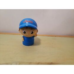 Kyпить Mega Bloks Jeep Hat Block Buddy First Builder Blue Boy Figure Toy - 3