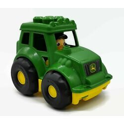 Kyпить John Deere Mega Bloks Tractor w/ Driver Boy Preschool Farm Pretend Play Toy на еВаy.соm