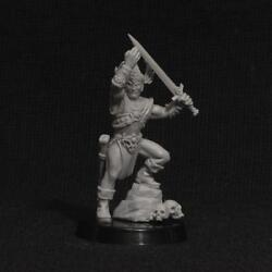 Brother Vinni Miniatures Barbarian King With Sword