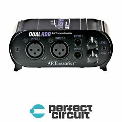 ART Dual RDB 2-Channel Re-Amping Device PRO AUDIO - NEW - PERFECT CIRCUIT