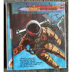 Kyпить Vintage Rare Space Race Astronaut Trapper Keeper Mead, Portfolio 70/80's на еВаy.соm