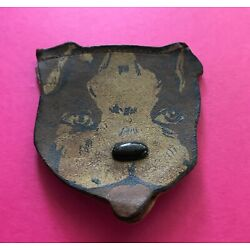 Kyпить Sweet Vintage Boston Terrier French Bulldog Leather Coin Purse Williamsburg VA на еВаy.соm