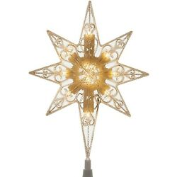 """Kyпить 11"""" Bethlehem Star Tree Topper ~ for Low Voltage LED Trees w/female end connecto на еВаy.соm"""