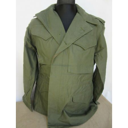 img-Army Field Jacket US M43 Hunting Jacket Vintage Nose Art Heritage Hunting -M #2