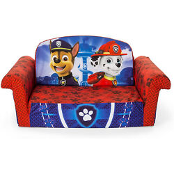 Marshmallow Furniture Flip Open Couch Bed Kid Furniture, Paw Patrol (Open Box)