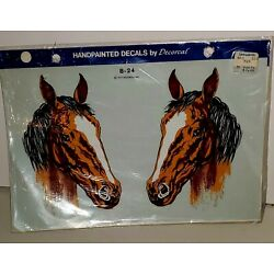 Vintage Handpainted Decals By Decorcal 1977 New