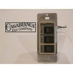 TESTING SERVICE For Your Casablanca Ceiling Fan W-12 Wall Control