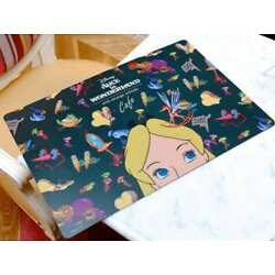 Alice in Wonderland X OH MY CAFE Japan Limited Table Placemat Green Disney RARE