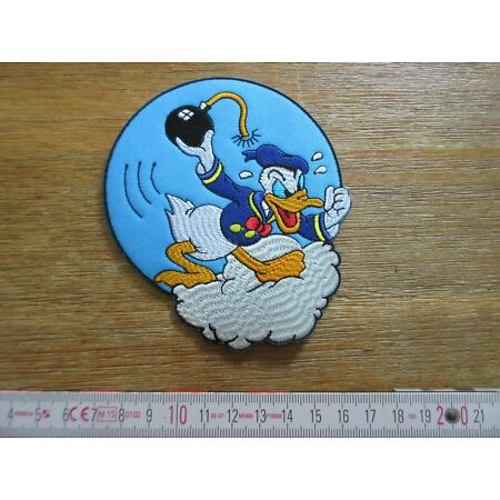 img-Patch 531st Bomb Squadron Squad Airforce Donald Duck A2 G1 Jacket US Army USAAF