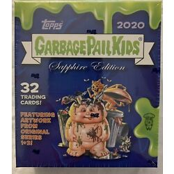 Kyпить 2020 Garbage Pail Kids SAPPHIRE EDITION Pack from Box Limited Edition In Hand на еВаy.соm