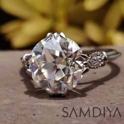 Kyпить 7.10 CT Cushion Light Yellow Moissanite Ring,  Engagement Ring , Wedding Ring на еВаy.соm