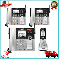 Kyпить VTech 4-Line Small Business Phone System Office Bundle Multi color NEW на еВаy.соm