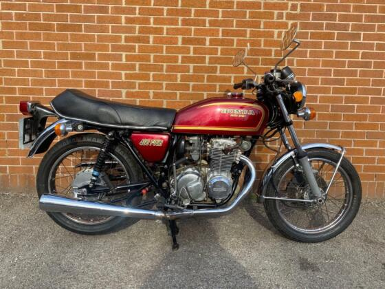 1975 HONDA CB400 FOUR 400CC CLASSIC MOTORCYCLE (DELIVERY AVAILABLE)