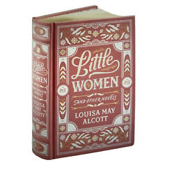LITTLE WOMEN & OTHER NOVELS by Louisa May Alcott Leather Bound Hardback Book