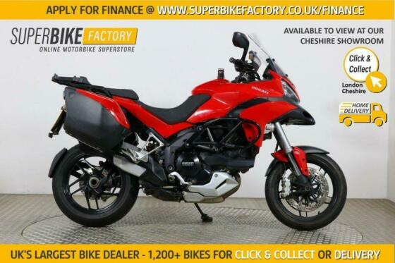 2015 15 DUCATI MULTISTRADA 1200 S TOURING - BUY ONLINE 24 HOURS A DAY