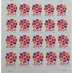Kyпить 100 USPS Forever Stamps Love Heart Blossoms на еВаy.соm