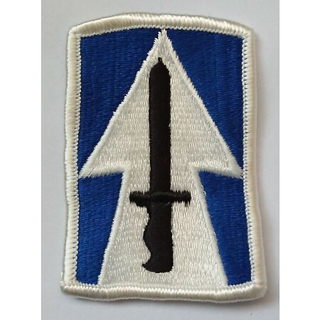 img-US ARMY PATCH 76th Infantry Brigade Colour Class A Uniform Badge United States