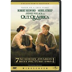 Out of Africa DVD Meryl Streep NEW