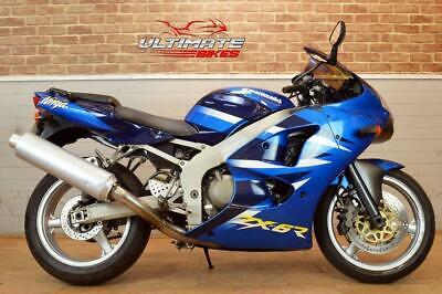 2001 Y KAWASAKI NINJA ZX-6R  - FREE DELIVERY AVAILABLE