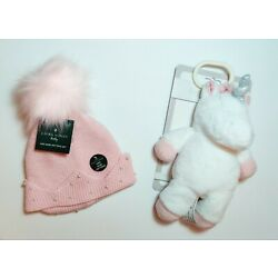 Kyпить BABY GIRL 3-PC UNICORN BUNDLE:  Includes Hat, Mittens & KELLY BABY Unicorn Toy на еВаy.соm
