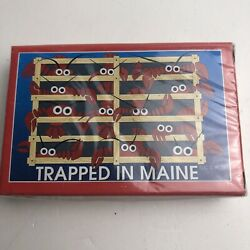 Kyпить Trapped in Maine Lobster Souvenir Playing Cards New in Box Sealed на еВаy.соm