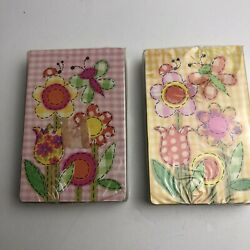 Kyпить Lot of 2 Vintage Stardust Nu-Vue Bright Flowers Butterflies Playing Cards NEW на еВаy.соm