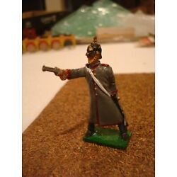 Kyпить WW1 GERMAN ARMY OFFICER FIREING TIN LEAD SOLDIERS PAINTED FIGURE 54MM 1:32 на еВаy.соm