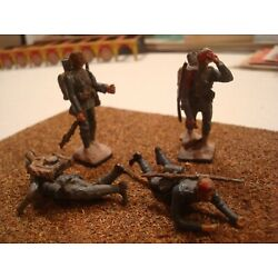 Kyпить WW1 FRENCH ARMY CASUALTIES SET TIN LEAD SOLDIERS PAINTED FIGURE 54MM 1:32 на еВаy.соm