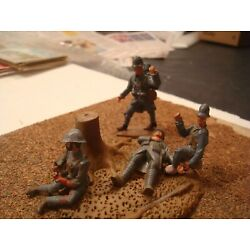 Kyпить WW1 FRENCH ARMY TENDING TO WOUNDED SET TIN LEAD SOLDIER PAINTED FIGURE 54MM 1:32 на еВаy.соm