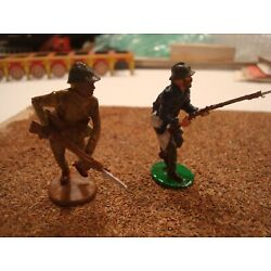 Kyпить WW1 FRENCH FORIGN LEGION ATTACKING SET TIN LEAD SOLDIER PAINTED FIGURE 54MM 1:32 на еВаy.соm