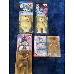 Kyпить Ty Beanie Baby Mini International Bear Set McDonald's Happy Meal NIP на еВаy.соm