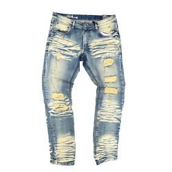Kyпить Men's Copper Rivet Dirt Tint Ripped Jeans на еВаy.соm