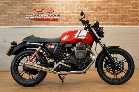 2015 64 MOTO GUZZI V7 STONE ABS  - FREE DELIVERY AVAILABLE
