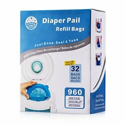 Kyпить  Diaper Pail Refill Bags (960 Counts) Fully Compatible with Arm&Hammer  на еВаy.соm