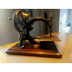 Kyпить Willcox and Gibbs sewing machine - hand cranked - circa 1890 на еВаy.соm