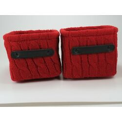 Storage Basket Red Threshold 5 x 7 x 6 inch Lot of 2 New with tags