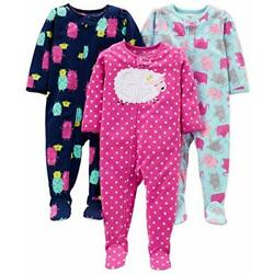 Kyпить  Baby and Toddler Girls' 3-Pack Loose Fit 12 Months Elephant/Lamb/Monster на еВаy.соm