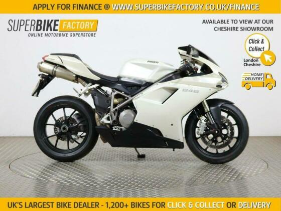 2009 09 DUCATI 848 BUY ONLINE 24 HOURS A DAY