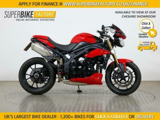 2011 11 TRIUMPH SPEED TRIPLE 1050 - BUY ONLINE 24 HOURS A DAY