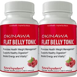 Kyпить Okinawa Flat Belly Tonic 2 BOTTLE PACK (NOW IN CAPSULES) Powder на еВаy.соm
