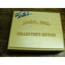 Kyпить wooden display 25 Jabo Shooter marbles several UV box signed by Dave McCullough  на еВаy.соm