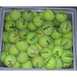 Kyпить Lot of 100 Used Tennis Balls Chairs Dogs Batting Practice Continental US Only на еВаy.соm