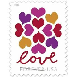 Kyпить LOVE HEARTS BLOSSOM USPS FOREVER STAMPS 10 Panes of 20 (200 stamps) USA на еВаy.соm