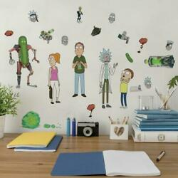 Rick and Morty Roommates 22 Removable Wall Decals RMK4704SCS