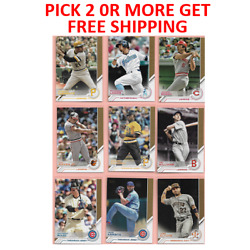 2017 Topps Baseball Salute & Other Inserts Pick 2 or More Get Free Shipping