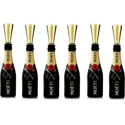 Kyпить 24 Pack Moet & Chandon Champagne Mini Flute Sippers Toppers NEW, Great For Party на еВаy.соm