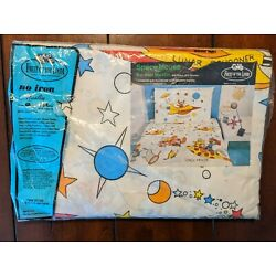 Kyпить SPACE MOUSE LUNAR SCHOONER VINTAGE 70S COMPLETE TWIN SHEET SET Fruit of the Loom на еВаy.соm